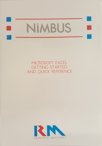 RM Nimbus Microsoft Excel Getting Started and Quick Reference PN 23127