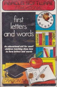 First Letters and Words