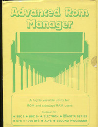 Advanced ROM Manager
