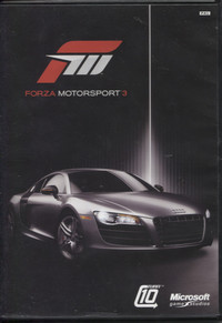 Forza Motorsport 3 (Black Case)