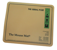 The Serial Port Mouse Mat