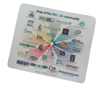 RISC OS Community Mouse Mat + Coaster