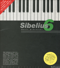 Sibelius 6 Music Processor