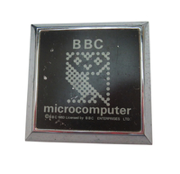 BBC Micro Car Radiator Badge