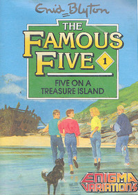 Enid Blyton The Famous Five - Five on a Treasure Island