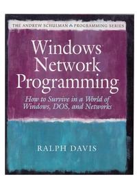 Windows Network Programming - How to Survive in a World of Windows, DOS, and Networks