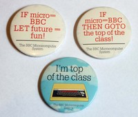 BBC Micro Badges