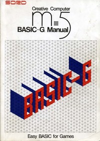 Sord M5 Basic-G Manual