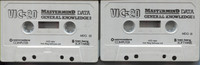 VIC-20 Mastermind: Data General Knowledge 1 & 2 (Loose) (Cassette)