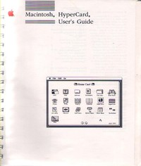 Macintosh HyperCard Users Guide