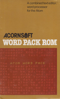 Word Pack ROM