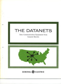 The Datanets data communication equipment from General Electric