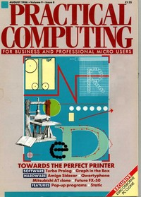 Practical Computing - August 1986