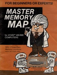 Master Memory Map for the Atari 400/800