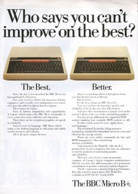 BBC Micro B+ Promotional Leaflet