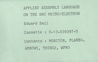 Applied Assembly Language