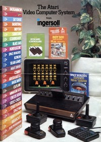 The Atari Video Computer System from Ingersoll
