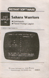 Sahara Warriors