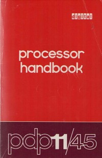 Digital Processor Handbook PDP-11/45