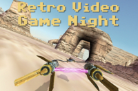 Retro Video Game Night - Friday 8th June 2018