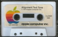 Alignment Test Tone / Renumber / Append