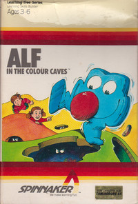 Alf In The Colour Caves