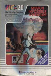 Mission Impossible Adventure (Cartridge)