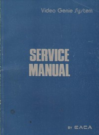 Video Genie System Service Manual