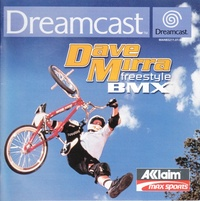 Dave Mirra Freestyle BMX (Pre-Production Sample)