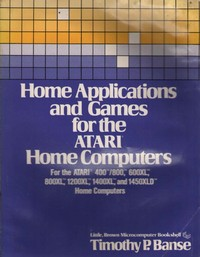 Home applications and games for the Atari home computers