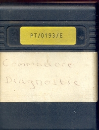 Ccommodore Diagnostics cart