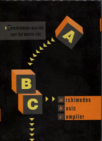 ABC - Archimedes BASIC Compiler