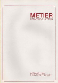 Who are Metier Management Systems?