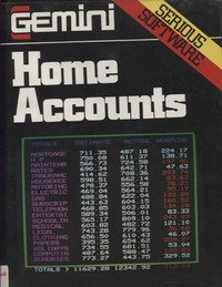 Home Accounts