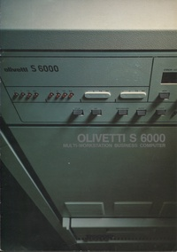 Olivetti S6000 Multi-Workstation Business Computer Brochure