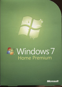 Windows 7 Home Premium (with Service Pack 1)