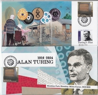 Commemorative Alan Turing Stamps