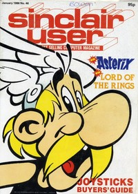 Sinclair User January 1986