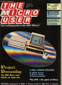 The Micro User - January 1987 - Vol 4 No 11