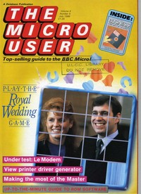 The Micro User - July 1986 - Vol 4 No 5