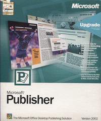 Microsoft Publisher Upgrade Version 2002
