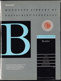 Monotype Library of Postscript Typefaces