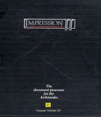 Impression II - The document processor for the Archimedes