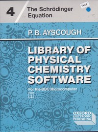 Library Of Physical Chemistry Software
