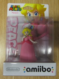 Princess Peach Amiibo