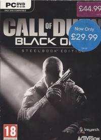 Call Of Duty Black Ops II Steel Book Edition