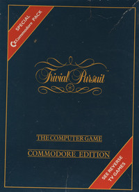 Trivial Pursuit Commodore Edition