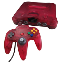 Nintendo 64 - Fire Red