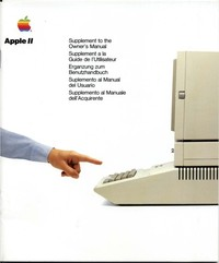 Apple II Supplement to Owners Manual
