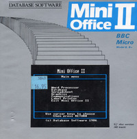 Mini Office II (Disk)